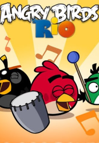 Angry Birds Rio for Mac poster