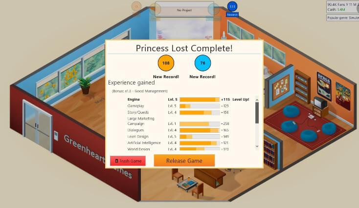 Game Dev Tycoon Full Version Game PC Download - Yo PC Games