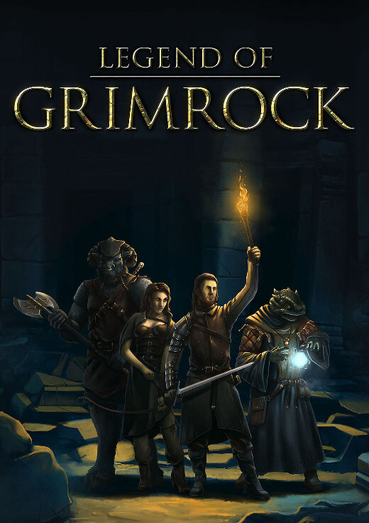 Legend of Grimrock for Mac poster