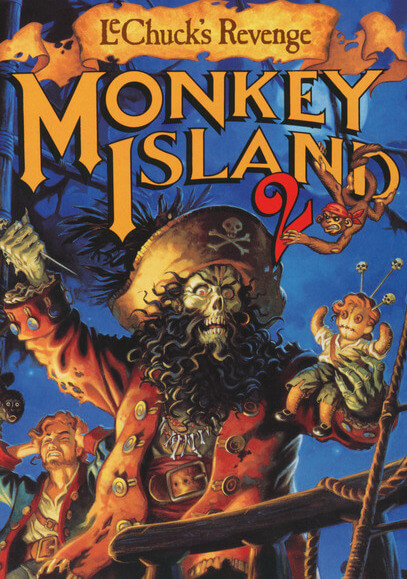 Monkey Island 2 for Mac poster