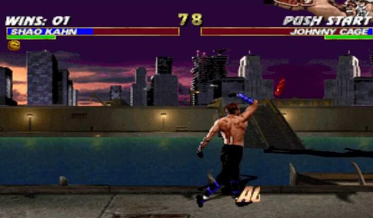 Mortal kombat x rg machine