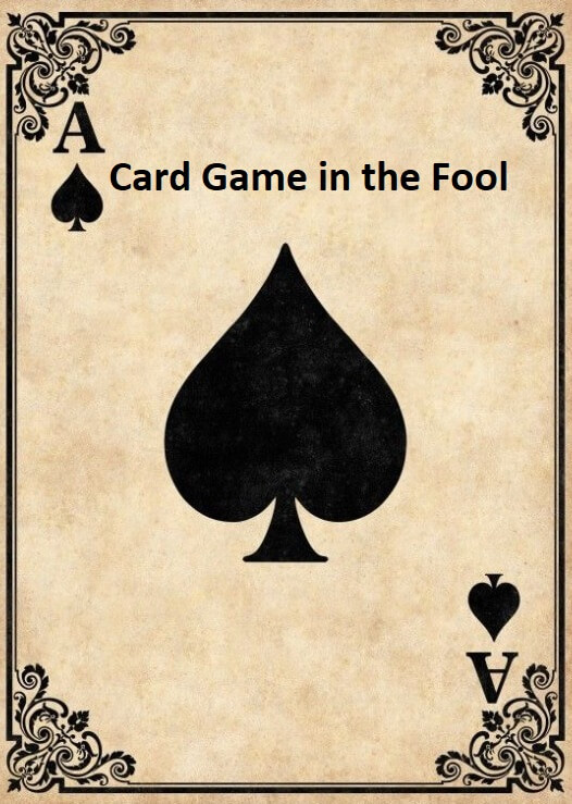 Card game in the fool