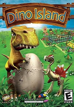 Dino Island for Mac poster